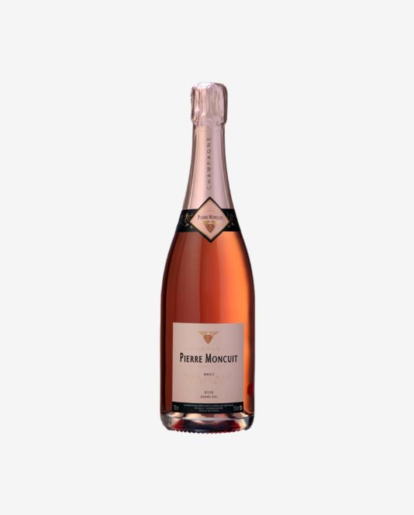 Cuvée Brut Rosé, Grand Cru Mesnil, Champagne Pierre Moncuit NV