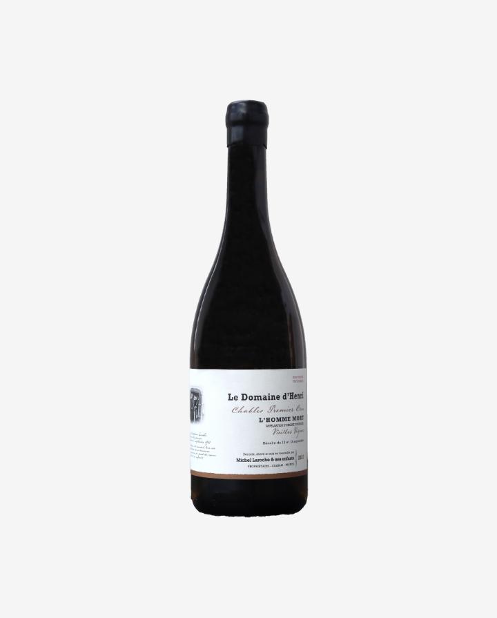 Chablis 1er Cru L`Homme Mort Vieilles Vignes, Le Domaine d'Henri 2017