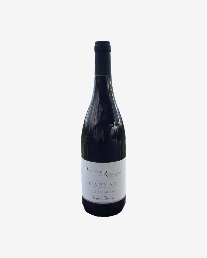 Beaujolais Vieilles Vignes, Domaine de la Rocaillère 2018