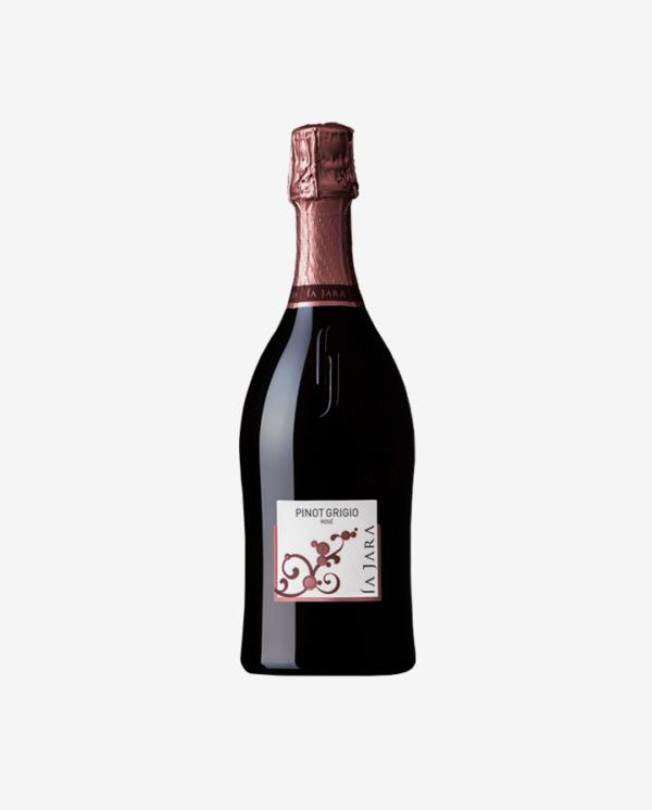 Pinot Grigio Spumante Rosato, La Jara NV