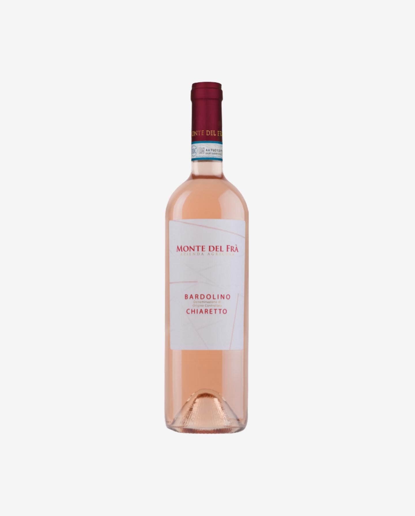 Bardolino Chiaretto Rosé, Monte del Frŕ 2019