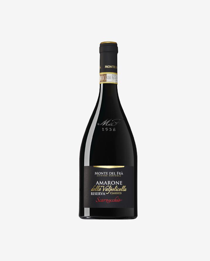 Amarone Riserva Classico Scarnocchio, Monte del Frŕ 2015