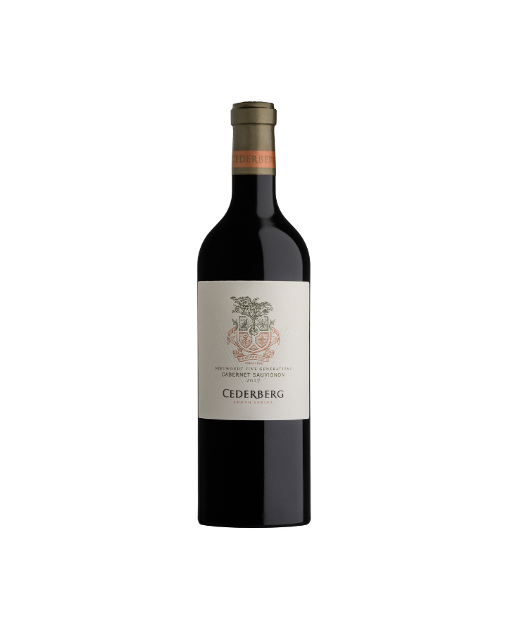 Five Generations Cabernet Sauvignon, Cederberg Private Cellar 2017