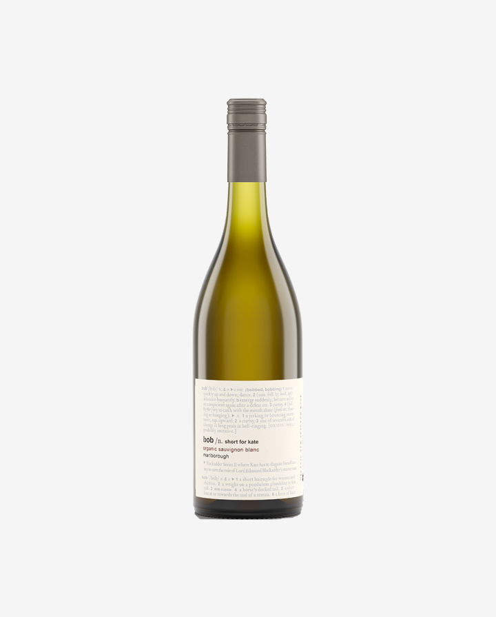 BOB Short for Kate Sauvignon Blanc, Glover Family Vineyards 2019